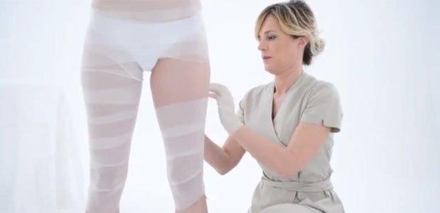Bodywrap Compressietherapie Contoura omvangsvermindering